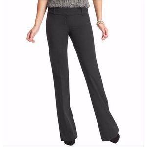 LOFT Zoe Fit Gray Trouser Work Dress Pants 8